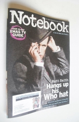 <!--2013-12-22-->Notebook magazine - Matt Smith cover (22 December 2013)