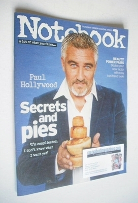 <!--2013-10-27-->Notebook magazine - Paul Hollywood cover (27 October 2013)