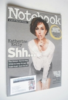 Notebook magazine - Katherine Kelly cover (1 September 2013)