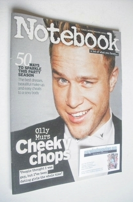 <!--2013-11-24-->Notebook magazine - Olly Murs cover (24 November 2013)
