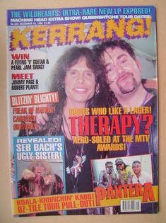 <!--1994-12-10-->Kerrang magazine - 10 December 1994 (Issue 524)
