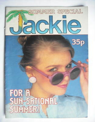 Jackie magazine - Summer Special 1981