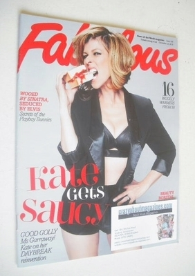<!--2010-12-12-->Fabulous magazine - Kate Garraway cover (12 December 2010)