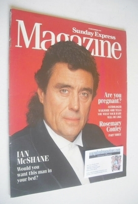 <!--1991-12-15-->Sunday Express magazine - 15 December 1991 - Ian McShane c