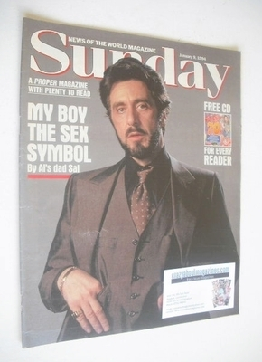 <!--1994-01-09-->Sunday magazine - 9 January 1994 - Al Pacino cover