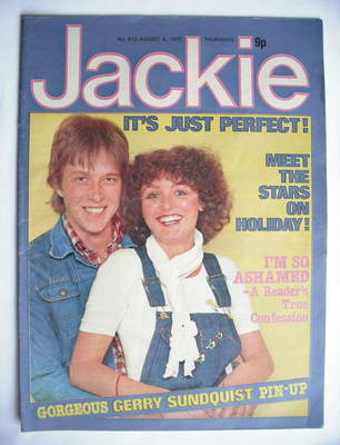 <!--1979-08-04-->Jackie magazine - 4 August 1979 (Issue 813)