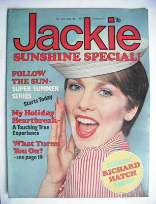 <!--1979-07-28-->Jackie magazine - 28 July 1979 (Issue 812)