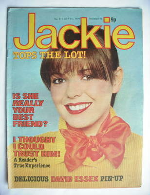 <!--1979-07-21-->Jackie magazine - 21 July 1979 (Issue 811)