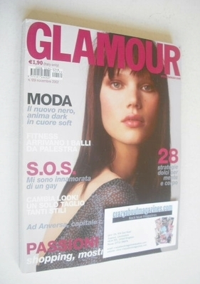 <!--2002-11-->Glamour magazine - Diana Gartner cover (November 2002 - Italy