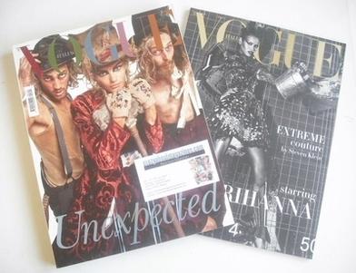 <!--2009-09-->Vogue Italia magazine - September 2009 - Unexpected cover