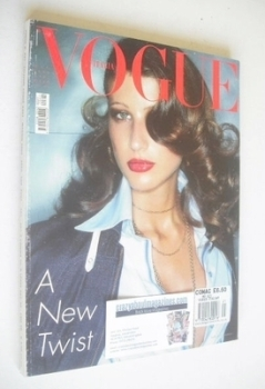 Vogue Italia magazine - May 2002 - Michelle Alves cover