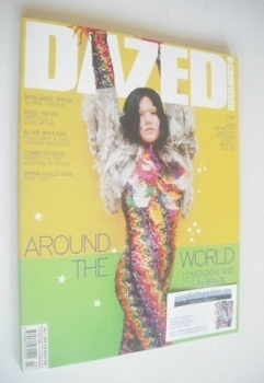 Dazed & Confused magazine (March 2008 - Lovefoxxx cover)