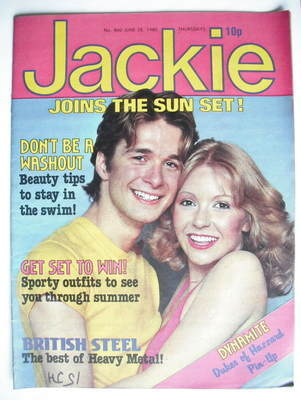 <!--1980-06-28-->Jackie magazine - 28 June 1980 (Issue 860)