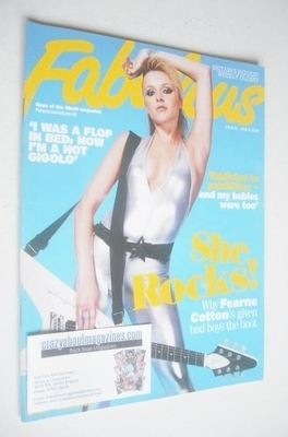 <!--2008-06-08-->Fabulous magazine - Fearne Cotton cover (8 June 2008)