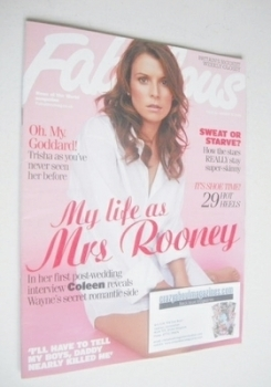 Fabulous magazine - Coleen Rooney cover (31 August 2008)