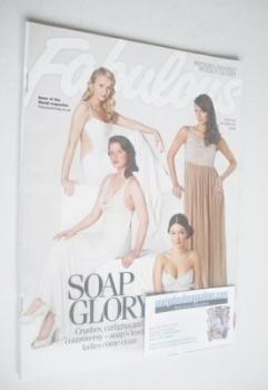 Fabulous magazine - Soap Stars cover (19 October 2008)