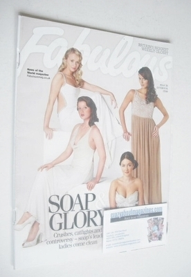 <!--2008-10-19-->Fabulous magazine - Soap Stars cover (19 October 2008)
