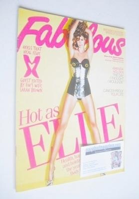 <!--2010-02-21-->Fabulous magazine - Elle Macpherson cover (21 February 201