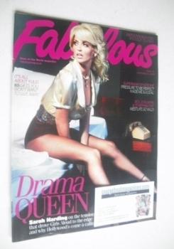 Fabulous magazine - Sarah Harding cover (22 November 2009)