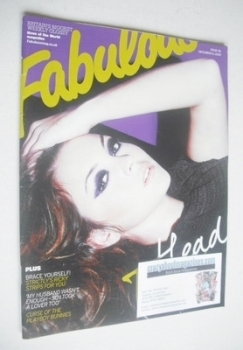 Fabulous magazine - Lacey Turner cover (6 December 2009)