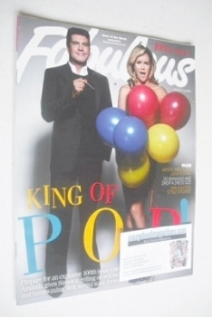 Fabulous magazine - Simon Cowell and Amanda Holden cover (10 January 2010)
