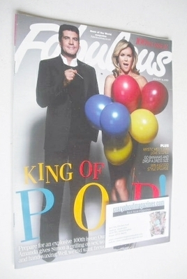 <!--2010-01-10-->Fabulous magazine - Simon Cowell and Amanda Holden cover (