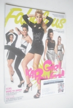 Fabulous magazine - The Saturdays cover (24 May 2009)