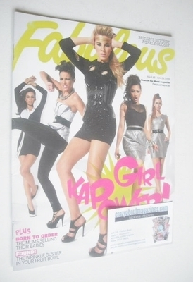 <!--2009-05-24-->Fabulous magazine - The Saturdays cover (24 May 2009)
