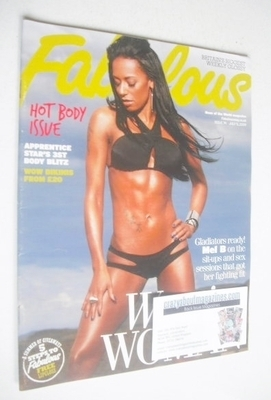 <!--2009-07-05-->Fabulous magazine - Mel B cover (5 July 2009)