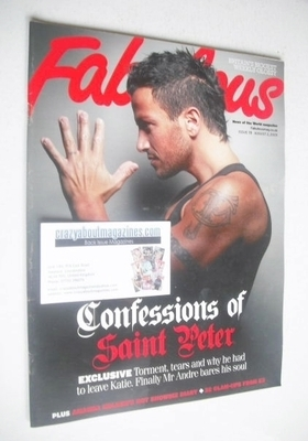 <!--2009-08-02-->Fabulous magazine - Peter Andre cover (2 August 2009)