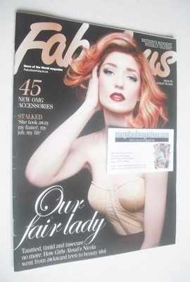 <!--2010-08-29-->Fabulous magazine - Nicola Roberts cover (29 August 2010)