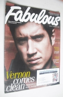 <!--2010-09-05-->Fabulous magazine - Vernon Kay cover (5 September 2010)