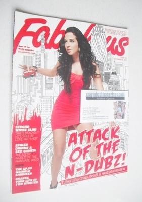 <!--2010-09-12-->Fabulous magazine - Tulisa Contostavlos cover (12 Septembe