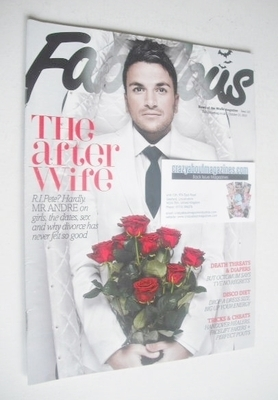 <!--2010-10-31-->Fabulous magazine - Peter Andre cover (31 October 2010)