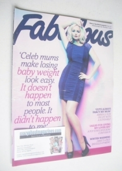 Fabulous magazine - Jennifer Ellison cover (7 November 2010)