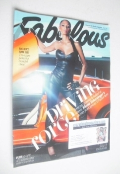Fabulous magazine - Nicole Scherzinger cover (28 November 2010)