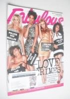 <!--2010-08-01-->Fabulous magazine - The Saturdays cover (1 August 2010)