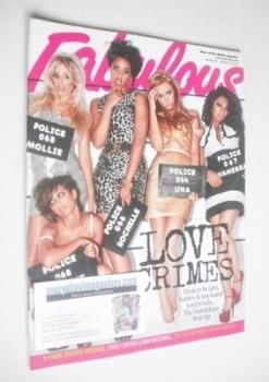 Fabulous magazine - The Saturdays cover (1 August 2010)