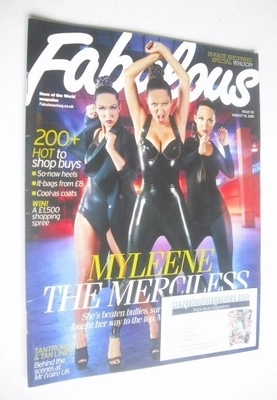 <!--2010-08-15-->Fabulous magazine - Myleene Klass cover (15 August 2010)