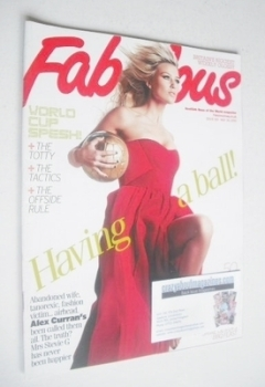 Fabulous magazine - Alex Curran cover (30 May 2010)