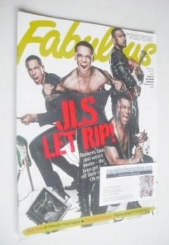Fabulous magazine - JLS cover (4 July 2010)