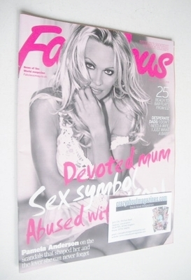 <!--2010-07-11-->Fabulous magazine - Pamela Anderson cover (11 July 2010)