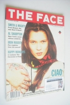 The Face magazine - Kate Moss cover (May 1990 - Volume 2 No. 20)