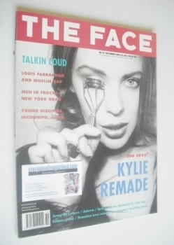 The Face magazine - Kylie Minogue cover (October 1991 - Volume 2 No. 37)