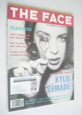 <!--1991-10-->The Face magazine - Kylie Minogue cover (October 1991 - Volum