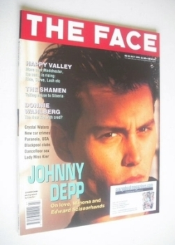 The Face magazine - Johnny Depp cover (July 1991 - Volume 2 No. 34)