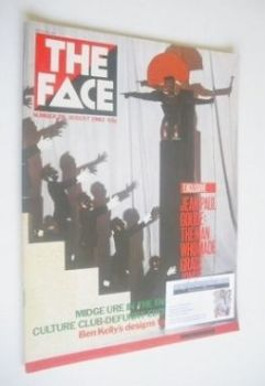 The Face magazine - Grace Jones cover (August 1982 - Issue 28)