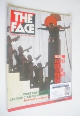 <!--1982-08-->The Face magazine - Grace Jones cover (August 1982 - Issue 28