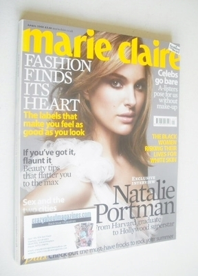 <!--2008-04-->British Marie Claire magazine - April 2008 - Natalie Portman