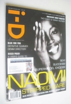 i-D magazine - Naomi Campbell cover (August 1996)